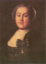 Portrait of a Mistress Agrippina Leontyevna Apraksina