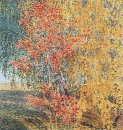 Autumn Rowan Tree And Birches 1906