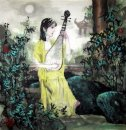 Beautiful Lady - la pintura china