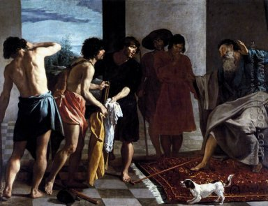 Joseph\'s Bloody Coat Brought to Jacob 1630