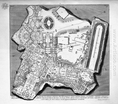 The Roman Antiquities T 1 Plate Xlii Plan Of The Baths Of Diocle