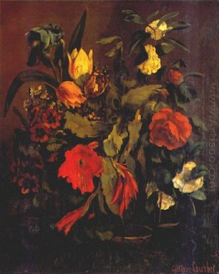 Still Life Of Flowers 1863