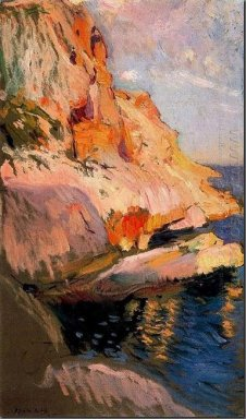 Cave At San Antonio Javea 1905