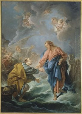 St Peter Invited To Walk On The Water 1766
