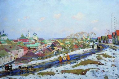 In The Province Torjok Tver Governorate 1914