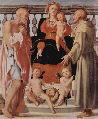 Madonna With St Francis And St Jerome 1522