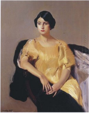 Elena In A Yellow Tunic 1909