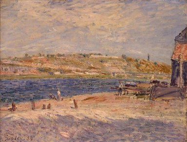 riverbanks at saint mammes 1884