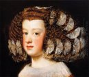 The Infanta Maria Theresa Daughter Of Philip Iv Of Spain 1654