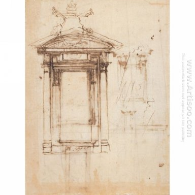 Design For Laurentian Library Doors And An External Window