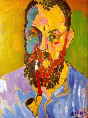 portrait of matisse 1905