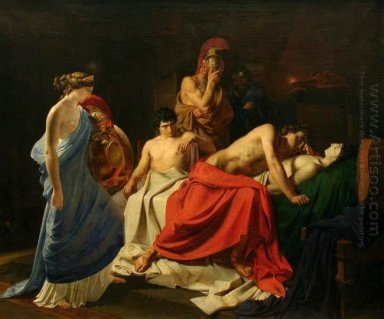 Achilles And The Body Of Patroclus