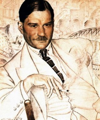 Portrait Of Yevgeny Zamyatin 1923