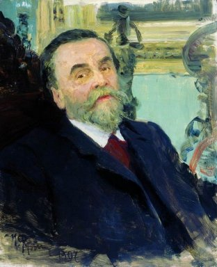 Portrait Of Ivan Zvetkov 1907