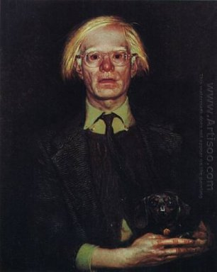 Portrait Of Andy Warhol 1976