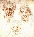 Studies of Grotesques