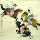 The Riding Ladies-Chinese Painting