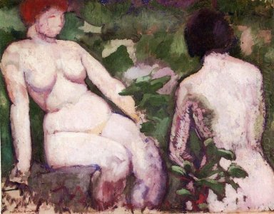 Two Nudes 1910