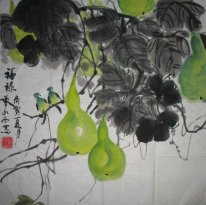 Courge - Peinture chinoise