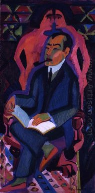 Portrait Of Art Dealer Manfred Shames 1932