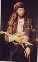 Self-Portrait in Arab Dress