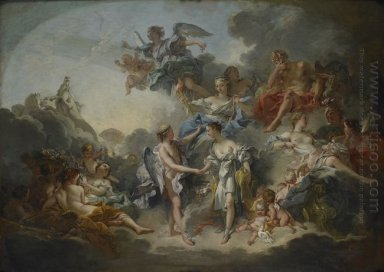The Wedding Of Psych Et De L Amour 1744