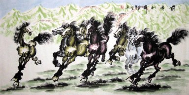 Horse&Mounted - Chinese Painting