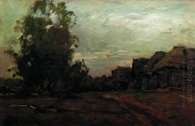Village Twilight 1897
