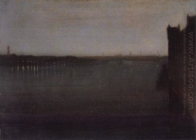 Nocturne Grey And Gold 1874