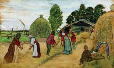 Threshing 1908