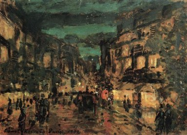 Night Street Paris 1902