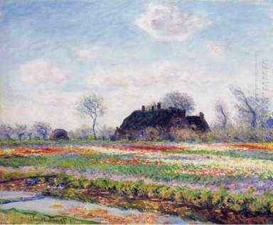 Tulip Fields At Sassenheim Near Leiden 1886