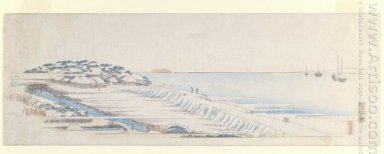Snow Dawn At Susaki 1843