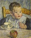 Paris The Boy With The Apple Portrait Of Mikhail Petrovich Konch