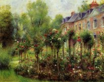 The Rose Garden At Wargemont 1879