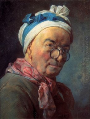 Self-Portrait with Spectacles