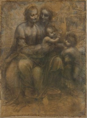 The Virgin And Child With Saint Anne And Saint John The Baptist