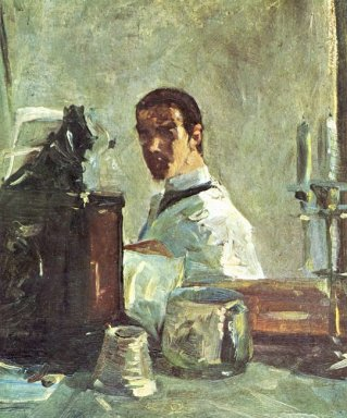 Self Portrait In Front Of A Mirror 1883