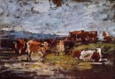 Cows In A Pasture 2