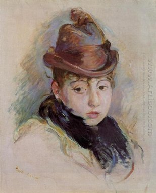 Young Woman In A Hat Henriette Patte