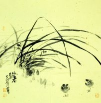 Orchid - Chinese Painting