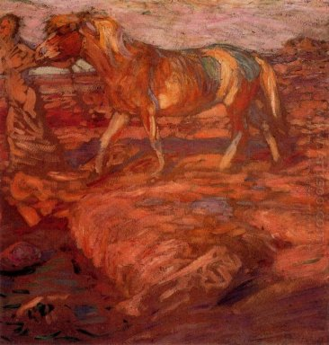 Woman And Horse 1906