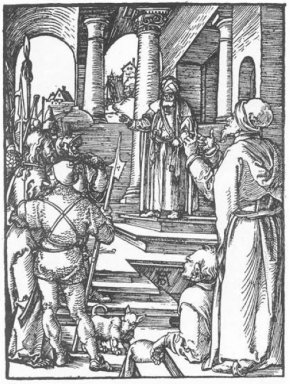 christ before pilate 1511