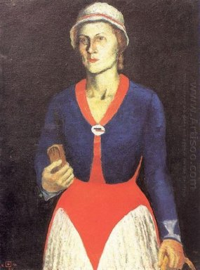 Portrait Of The Artist S Wife 1934