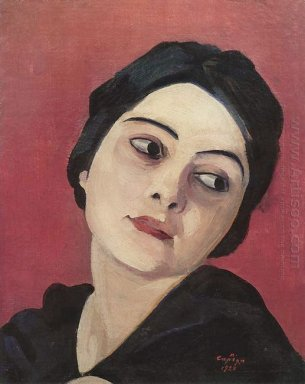 Head Of The Girl 1923
