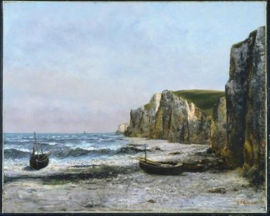 The Cliffs At étreat 1866
