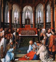 Exhumation Of Saint Hubert 1440