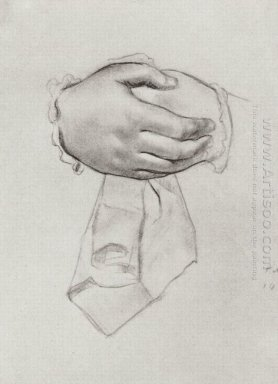 Drawing Hand To The Picture Merchant S Wife 1915