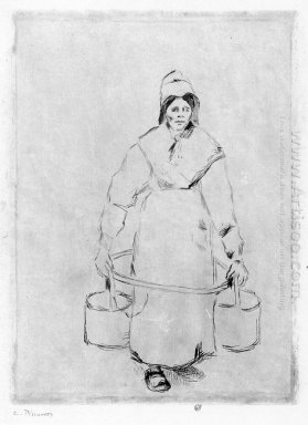 peasant woman at the well