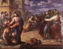 Christ Healing The Blind Man 1560
